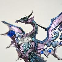 Socha fantasy exclusive - Velký ledový drak