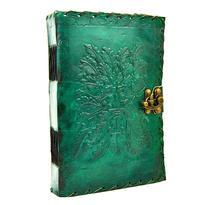 Magický deník velký - Zelený muž, pravá kůže