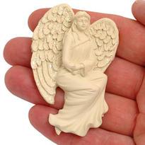 Magnetka - nebeský anděl odvahy, 7 cm