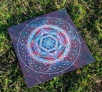 Mandala 2 30x30 cm
