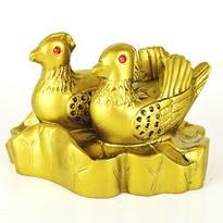 Mandarinské kachničky zlaté - láska, partnerství