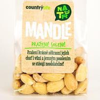 Country Life Mandle pražené solené 80 g