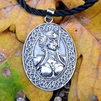 Medailon Bohyně Freyi pro sílu a ochranu