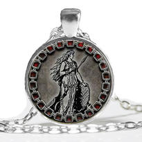 Medailon - Bohyně Freya