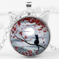 Kočičí medailon