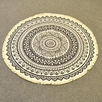 Meditační kobereček Faiza kulatý, 90 cm průměr