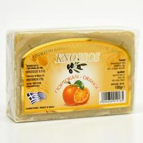 Knossos přírodní olivové mýdlo Pomeranč 100 g