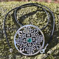 Fantasy náhrdelník Lesní kruh
