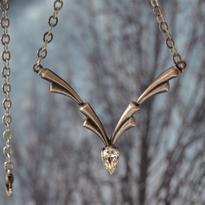 Fantasy náhrdelník Znamení padající Hvězdy