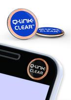 Nálepka Q-Link biorezonátor CLEAR, modrá aura