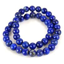 Náramek lapis lazuli kuličky 6 mm