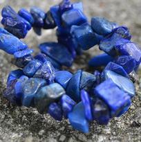 Náramek lapis lazuli, tamblovaný