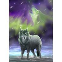 Obraz fantasy - Aura wolf, Anne Stokes