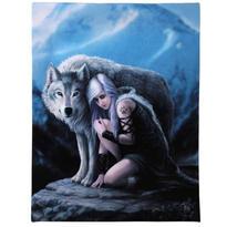 Obraz fantasy - Vlk ochránce, Anne Stokes