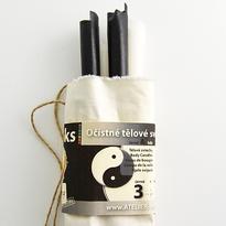 Tělové očistné svíčky Hoxi Jin Jang 25 cm, 6 kusů