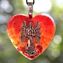 Přívěsek orgonit - Archanděl Michael