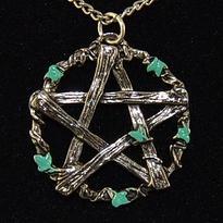 Amulet Pentagram lesního boha Pana