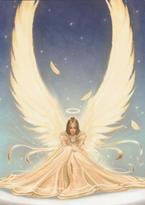 Přání anděla čistoty s tištěnou obálkou