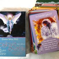 Poslové světla kniha a karty - Doreen Virtue