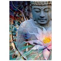 Přání - Buddha s lotosem