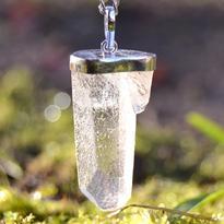 Přívěsek křišťál krystal extra ve stříbře