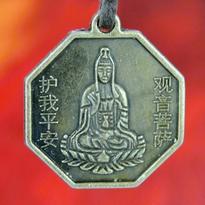 Medailon Nebeská Kuan Jin - Lotosová harmonie