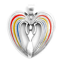 Přívěsek Láska, stříbro Ag 925/1000, 10 g