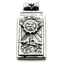 Přívěsek Tarotová karta Slunce, stříbro Ag 925