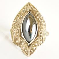 Fantasy prsten - Hematit