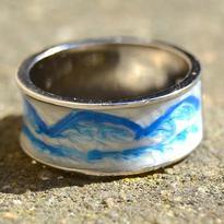 """Prsten """"Jako v nebi"""""""
