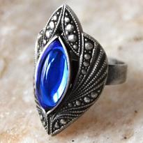 Fantasy prsten Jiné Světy - modrá