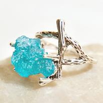 """Prsten """"Modré z nebe"""""""