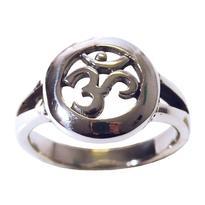 Prsten s Ómem, stříbro Ag 925/1000 vel. 54