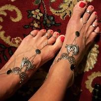 Ozdoba na nohu IINII - Jasmine