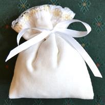 Lavennis pytlíček bílý samet- Máta