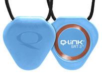 Q-Link SRT-3 biorezonátor přívěsek Trans Blue