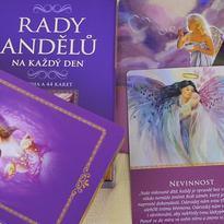 Rady andělů na každý den karty a kniha - D. Virtue