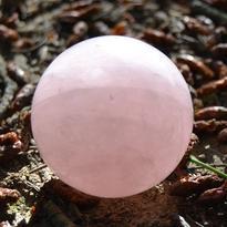 Koule polodrahokam - Růženín 45 mm