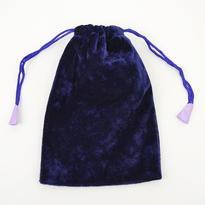 Sametový sáček 14,5 x 21,5 cm - fialový