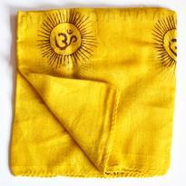 Šátek mantra - žlutý
