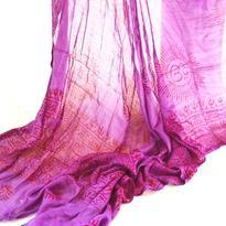 Šátek mantra - fialový