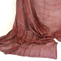 Šátek mantra - hnědý