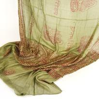 Šátek mantra - khaki