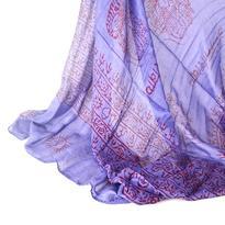 Šátek mantra - modrý