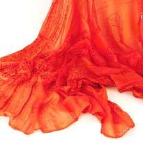 Šátek mantra - oranžový