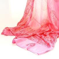 Šátek mantra - růžový