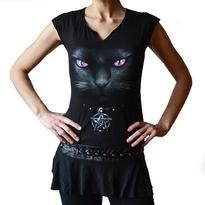 Krátké šaty Black cat M