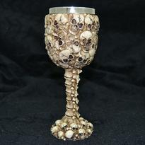 Skeleton pohár - lebky a kosti