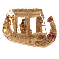 Soška Egypt - Sluneční bárka