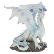 Socha fantasy exclusive - Velký sněžný drak